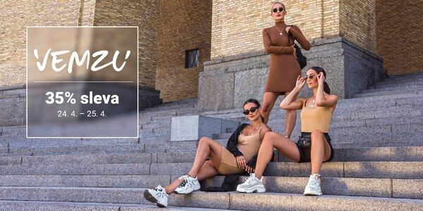 35% sleva na tenisky a oblečení na e‑shopu VEMZU