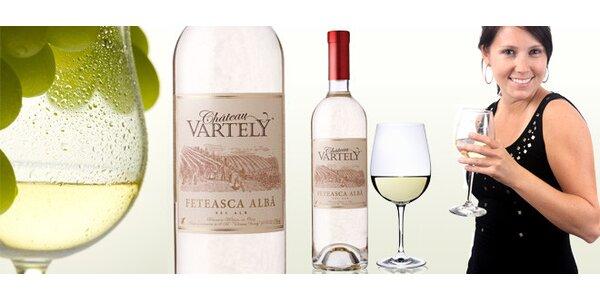 DVĚ lahodná moldavská vína Feteasca alba