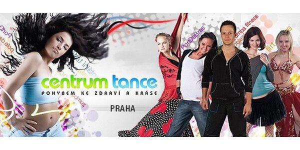 Vstup na 6 lekcí do Centra Tance Praha