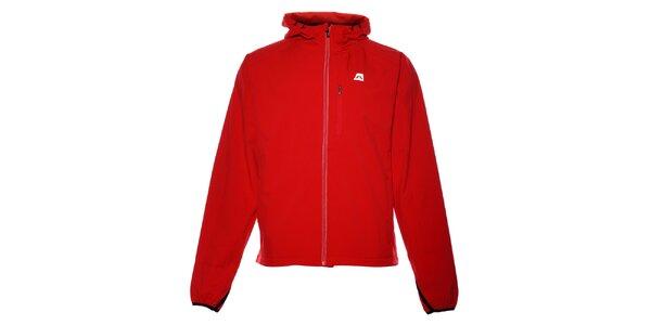 Pánská červená softshellová bunda Alpine Pro