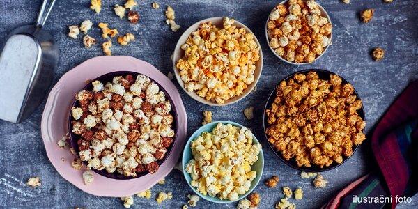 Úžasný přírodní popcorn: 6 litrů, 4 příchutě