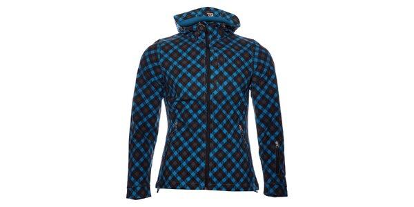 Dámská tmavě modrá softshellová bunda Alpine Pro s potiskem