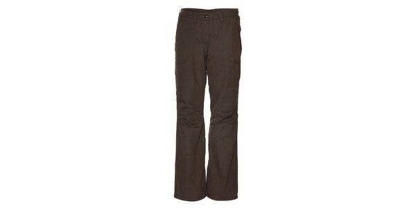 Dámské tmavě šedé zateplené kalhoty Alpine Pro
