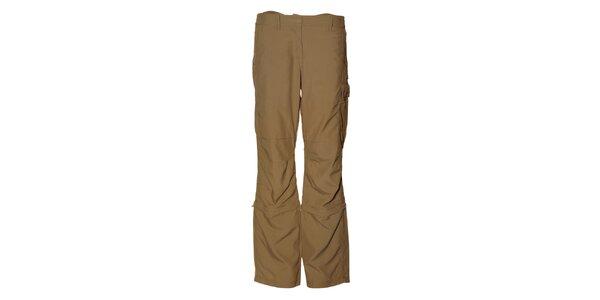 Dámské béžové sportovní kalhoty Alpine Pro