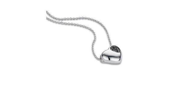 Dámský srdíčkový náhrdelník Orphelia