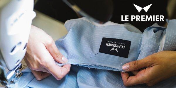 Košile či oblek na míru: kredit 800 nebo 2500 Kč