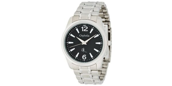Pánské ocelové hodinky Orphelia s kovovým řemínkem