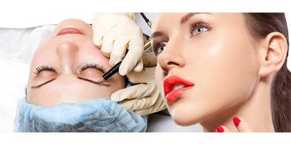 Permanentní make-up pro zvýraznění rysů