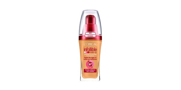Infallible 260 Golden Sun 30ml - tekutý make-up