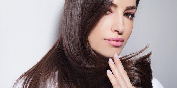 Dámský střih s barvením pro všechny délky vlasů