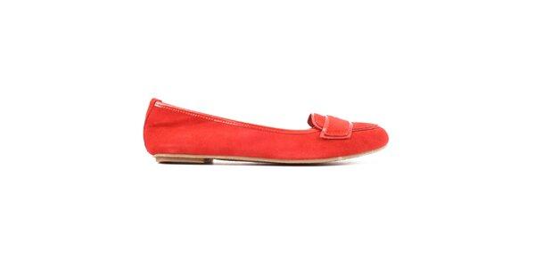 Dámské červené baleríny Iro Iko
