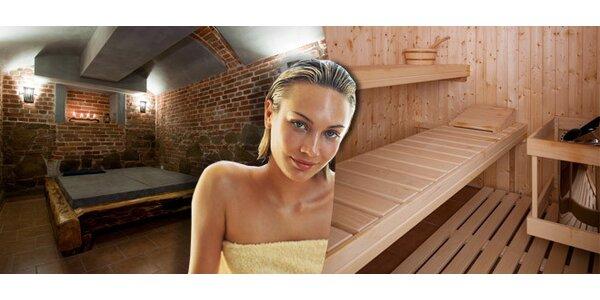 80 minut pro 1-5 osob v privátní samoobslužné sauně