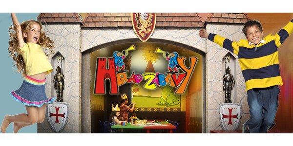Dva vstupy pro děti do Hradu zábavy v Palladiu