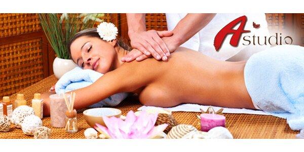 Hodinová relaxace aromamasáží