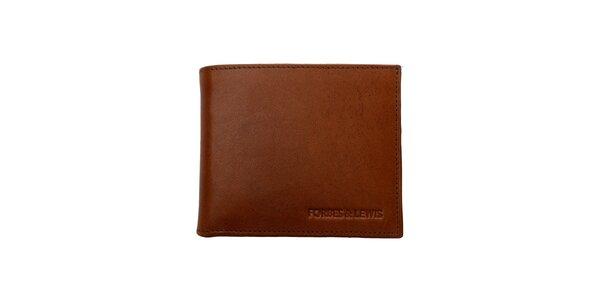 Pánská hnědá kožená peněženka Forbes&Lewis