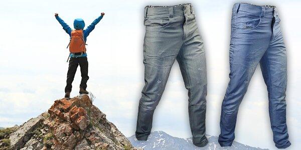 Stylové pánské outdoorové kalhoty Haven