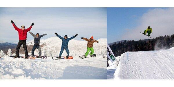 Jen 1450 Kč za kurz snowboardingu na celý den včetně vybavení. Sleva 50%!