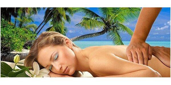 60 minut uvolňující masáže dle vlastního výběru