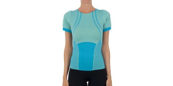 Dámské modré tričko s krátkými rukávy Marie Claire