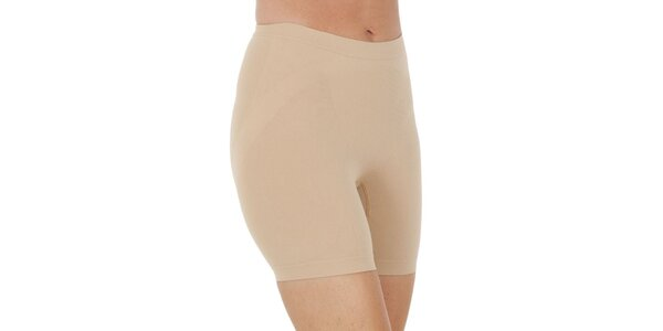 Dámské nohavičkové béžové kalhotky Marie Claire