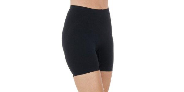 Dámské nohavičkové černé kalhotky Marie Claire