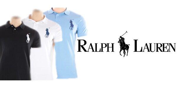 Ralph Lauren Custom-Fit Polo - modrá, černá, bílá