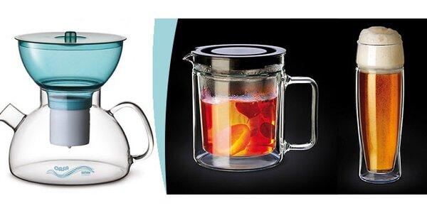 Praktické nádobí Simax z vysoce odolného skla.