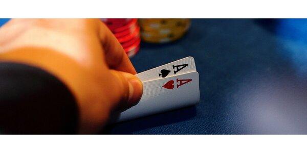 Exkluzivní pokerová škola Martina Růžičky (4 hodiny + vstup do turnaje)