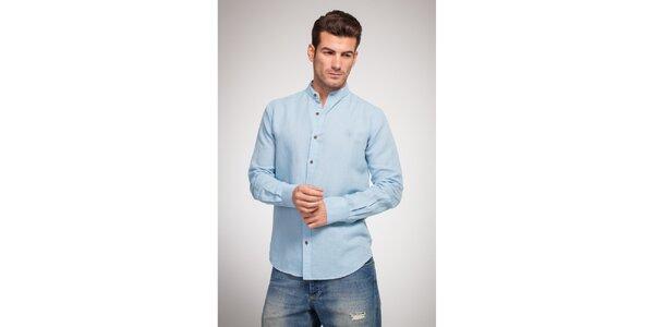 Pánská bledě modrá košile Bendorff