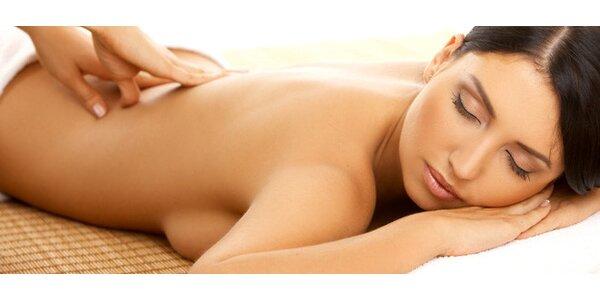 TŘI masáže dle vlastního výběru (šest druhů masáží)