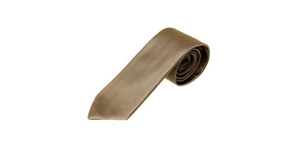 Pánská béžová kravata Moschino