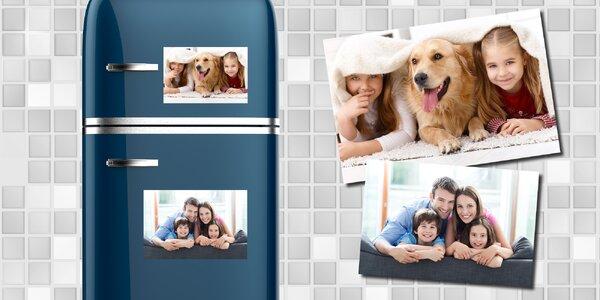Sada 5 kusů magnetek s vlastní fotografií