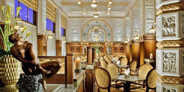 Pobyt v hotelu Imperial, snídaně u Z. Pohlreicha