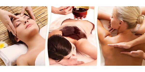 60minutová relaxační masáž dle vašeho výběru