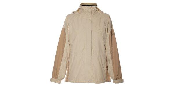 Dámská krémovo-béžová bunda Northland Professional s fleecovou vložkou