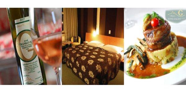 5900 Kč za silvestrovský pobyt ve hotelu Galant**** v Mikulově. SLEVA 42%