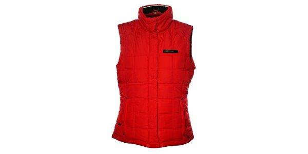 Dámská červená prošívaná vesta Northland Professional