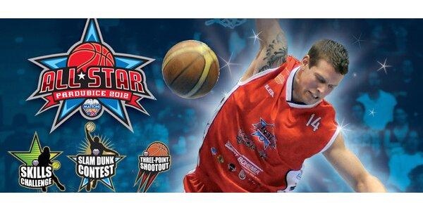 DVĚ vstupenky na All-star game 2012. Hvězdy NBL naživo!