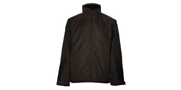 Pánská tmavě hnědá bunda Northland Professional s fleecovou vložkou