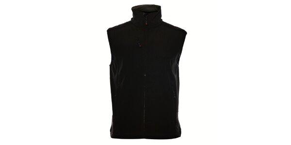Pánská černá softshellová vesta Northland Professional