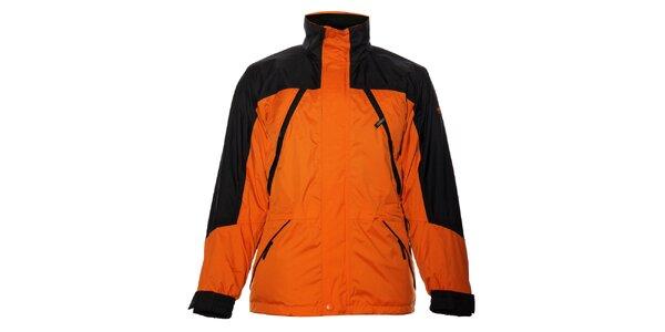 Pánská oranžová bunda Northland Professional s fleecovou vložkou