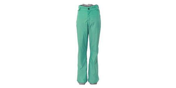 Dámské tyrkysové sportovní kalhoty Fundango s membránou