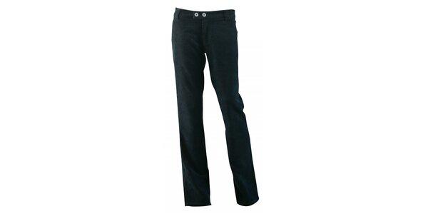 Dámské černé manšestrové kalhoty Fundango
