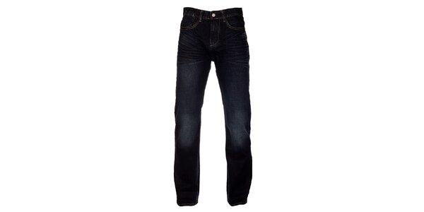 Pánské tmavě modré džíny Exe Jeans