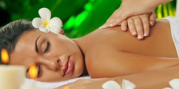 Dokonalá relaxace na hodinové thajské masáži