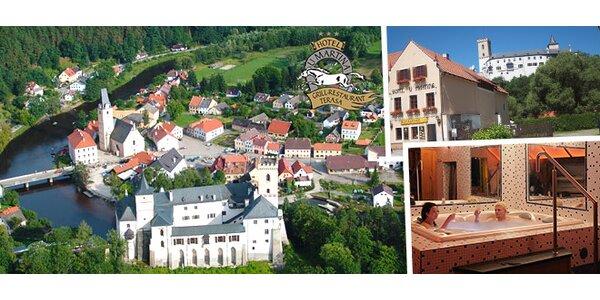 Pohádkový pobyt pro dva v jižních Čechách