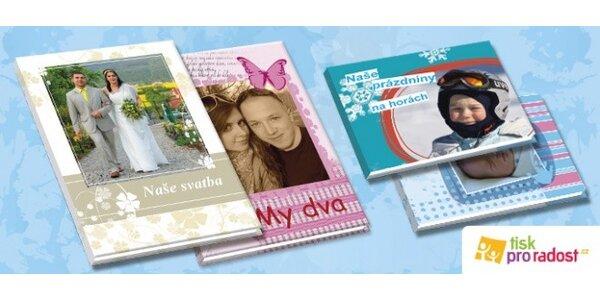 Krásné fotoknihy s pevnými deskami