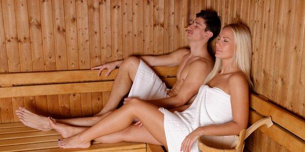 50 minut relaxace pro 2: finská nebo infrasauna