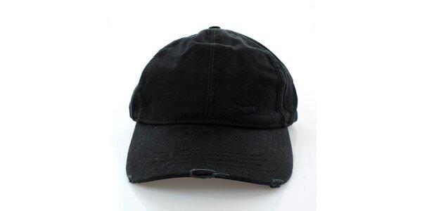 Pánská černá kšiltovka GAS