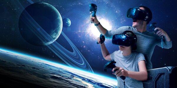 1 či 2 hodiny zábavy s VR brýlemi či zapůjčení domů